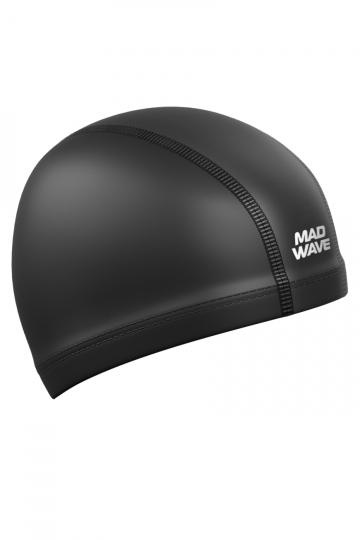 Комбинированная шапочка для плавания PUT CoatedКомбинированные шапочки<br>Текстильная шапочка с полиуретановым покрытием. Лучший выбор для ежедневных тренировок. Легкая и эргономичая.<br><br>Размер: None<br>Цвет: Черный