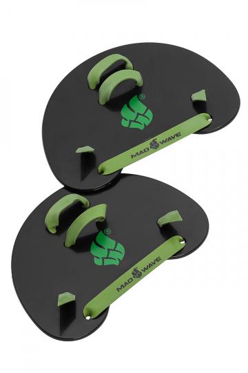 Лопатки для плавания Finger PaddlesЛопатки для плавания<br>Хорошо известные лопатки Серпики или Finger Paddles созданы для развития мышц предплечья, улучшения техники гребка. Использование этой модели аквалопаток поможет лучше «чувствовать» воду. Широкие эластичные ремешки обеспечивают удобную фиксацию на кистях рук.<br><br>Размер: one size<br>Цвет: Черный