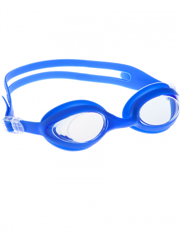 Тренировочные очки для плавания FlexyТренировочные очки<br>Очки FLEXY от Mad Wave отлично послужат прекрасным дополнением к частым тренировкам в бассейне. Превосходная посадка, обеспеченная высоким обтюратором и двойным силиконовым ремешком, надежно защитит глаза от протекания и повысит комфорт в использовании. Линзы с защитой от ультрафиолета UV 400 и покрытием от запотевания Антифог. Отдельно можно заказать линзы с диоптриями.<br><br>Цвет: Синий