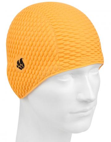 Латексная шапочка для плавания BubbleЛатексные шапочки<br>Латексная шапочка. Имеет эргономичную форму.<br><br>Размер: None<br>Цвет: Оранжевый
