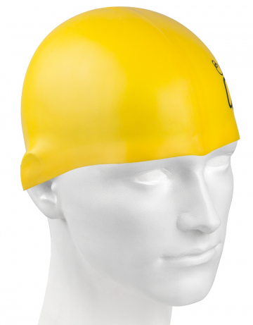 Силиконовая шапочка для плавания Silicone Junior SolidСиликоновые шапочки<br>Силиконовая шапочка Mad Wave Silicone Junior Solid - детская модель шапочки с логотипом Mad Wave, сделана из качественного силикона и подходит для всех видов занятий плаванием. Силикон - гипоаллергенный материал, не вызывает зуда и раздражения, а это особенно важно для чувствительной детской кожи. Модель имеет яркие расцветки, которые вызывают положительные эмоции у ребенка и делают его заметным на воде издалека.<br><br>Размер: None<br>Цвет: Желтый