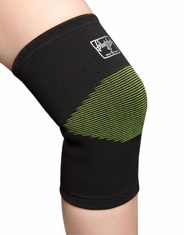 Фитнес тренажер Elastic Knee SupportФитнес инвентарь<br>Эластичный суппорт для коленного сустава. Упругий бандаж обеспечивает максимальную поддержку, удобную фиксацию для ослабленных или перегруженных мышц. Мультинаправленное натяжение обеспечивает сжатие и поддержку.<br><br>Размер: S/M<br>Цвет: Серый