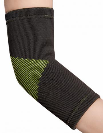 Фитнес тренажер Elastic Elbow SupportФитнес инвентарь<br>Эластичный суппорт для локтевого сустава. Упругий бандаж обеспечивает максимальную поддержку, удобную фиксацию для ослабленных или перегруженных мышц. Мультинаправленное натяжение обеспечивает сжатие и поддержку.<br><br>Размер: S/M<br>Цвет: Серый