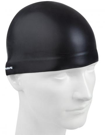 Силиконовые шапочки Mad Wave 3D MadWave logo Cap M0537 50 0 01WСиликоновые шапочки<br>Шапочка для профессиональных пловцов. Изготовлена с помощью трехмерного инжектирования со специальным утолщением в верхней части шапочки для придания ей более гидродинамической формы.<br><br>Размер: M<br>Цвет: Черный