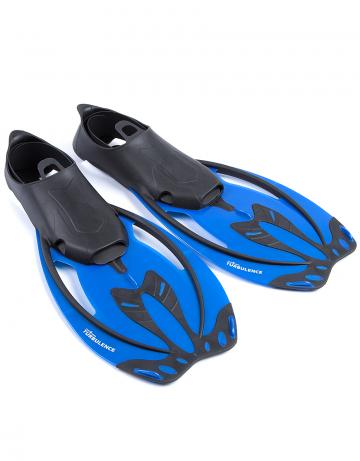 Ласты для дайвинга и сноркелинга Turbulence juniorЛасты<br>Легкие и удобные ласты для сноркеллинга.<br><br>Размер: 45-46<br>Цвет: Синий