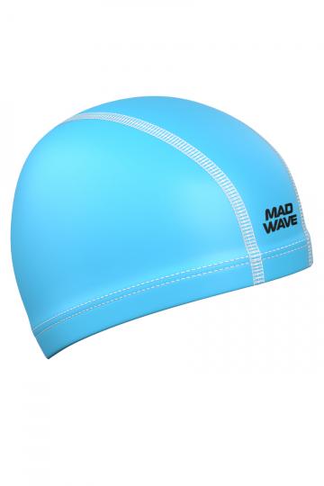 Комбинированная шапочка для плавания PUT CoatedКомбинированные шапочки<br>Текстильная шапочка с полиуретановым покрытием. Лучший выбор для ежедневных тренировок. Легкая и эргономичая.<br><br>Цвет: Голубой