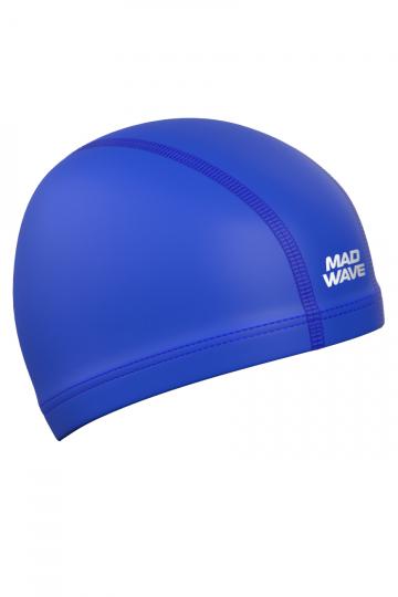 Комбинированная шапочка для плавания PUT CoatedКомбинированные шапочки<br>Текстильная шапочка с полиуретановым покрытием. Лучший выбор для ежедневных тренировок. Легкая и эргономичая.<br><br>Цвет: Синий