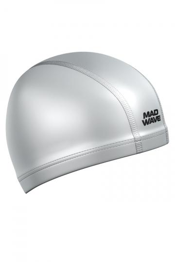 Комбинированная шапочка для плавания PUT CoatedКомбинированные шапочки<br>Текстильная шапочка с полиуретановым покрытием. Лучший выбор для ежедневных тренировок. Легкая и эргономичая.<br><br>Цвет: Серебро