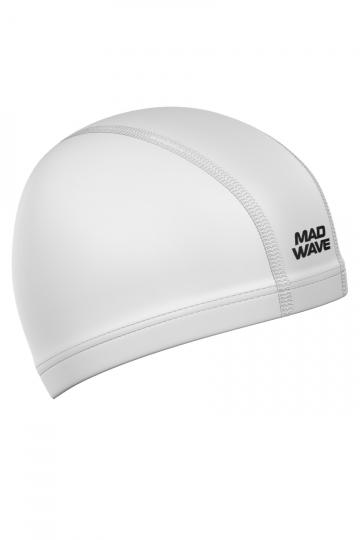 Комбинированная шапочка для плавания PUT CoatedКомбинированные шапочки<br>Текстильная шапочка с полиуретановым покрытием. Лучший выбор для ежедневных тренировок. Легкая и эргономичая.<br><br>Цвет: Белый