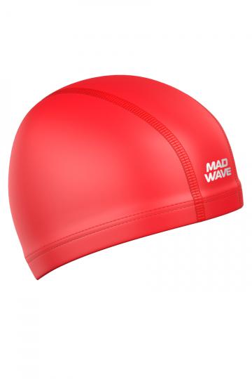 Комбинированная шапочка для плавания PUT CoatedКомбинированные шапочки<br>Текстильная шапочка с полиуретановым покрытием. Лучший выбор для ежедневных тренировок. Легкая и эргономичая.<br><br>Цвет: Красный