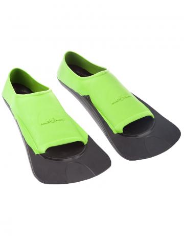 Ласты для плавания в бассейне Fins Training II RubberЛасты для плавания<br>Короткие резиновые тренировочные ласты.<br><br>Размер RU: 32-34<br>Цвет: Зеленый
