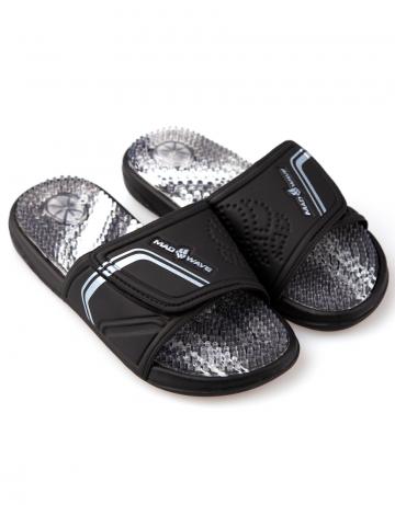 Женская обувь для бассейна и пляжа MASSAGEЖенская обувь<br>Массажные тапки.<br><br>Размер: 38<br>Цвет: Черный