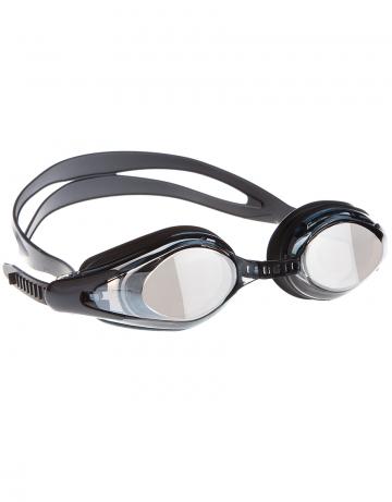 Тренировочные очки для плавания Competition Mirror AutomaticТренировочные очки<br>Очки COMPETITION AUTOMATIC MIRROR от компании Mad Wave послужат прекрасным дополнением к частым тренировкам в бассейне. Ультракомфортабельная посадка, обеспеченная системой автоматической регулировки ремешка, настраиваемой носовой перегородкой и высоким обтюратором, позволит использовать очки длительное время, не испытывая даже малейшего неудобства. Зеркальные линзы с защитой от ультрафиолета UV 400 и усовершенствованным покрытием для защиты от запотевания Антифог Плюс.<br><br>Цвет: Черный