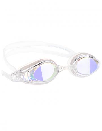 Тренировочные очки Mad Wave Competition Mirror Automatic M0430 02 0 13WТренировочные очки<br>Удобные очки для частых тренировок. Система автоматической регулировки ремешков (международный патент). Линзы с зеркальным покрытием.<br><br>Размер: None<br>Цвет: Белый