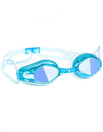 Тренировочные очки для плавания Automatic Mirror Racing IIТренировочные очки<br>Очки RACING AUTOMATIC MIRROR от компании Mad Wave послужат прекрасным дополнением к частым тренировкам в бассейне. Ультракомфортабельная посадка, обеспеченная системой автоматической регулировки ремешка, настраиваемой носовой перегородкой и высоким обтюратором, позволит использовать очки длительное время, не испытывая даже малейшего неудобства. Зеркальные линзы с защитой от ультрафиолета и усовершенствованным покрытием для защиты от запотевания Антифог Плюс.<br><br>Цвет: Бирюзовый