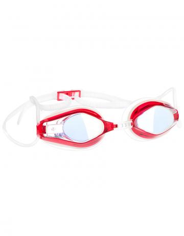 Тренировочные очки для плавания Automatic Mirror Racing IIТренировочные очки<br>Очки RACING AUTOMATIC MIRROR от компании Mad Wave послужат прекрасным дополнением к частым тренировкам в бассейне. Ультракомфортабельная посадка, обеспеченная системой автоматической регулировки ремешка, настраиваемой носовой перегородкой и высоким обтюратором, позволит использовать очки длительное время, не испытывая даже малейшего неудобства. Зеркальные линзы с защитой от ультрафиолета и усовершенствованным покрытием для защиты от запотевания Антифог Плюс.<br><br>Цвет: Красный