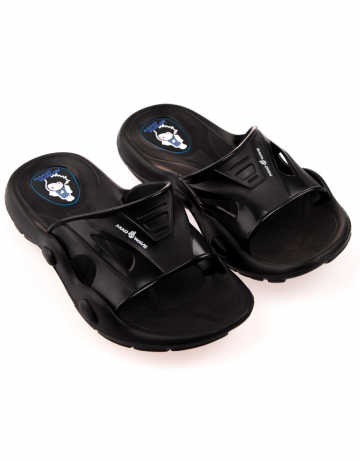 Детские тапочки для бассейна и пляжа FlipperДетская обувь<br>Юниорские тапки для бассейна.<br><br>Размер: 30<br>Цвет: Черный