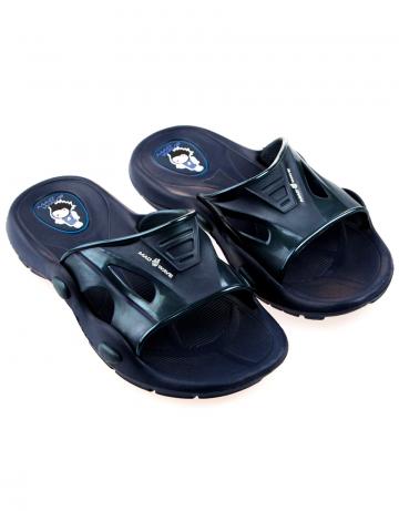 Детские тапочки для бассейна и пляжа FlipperДетская обувь<br>Юниорские тапки для бассейна.<br><br>Размер: 34<br>Цвет: Синий