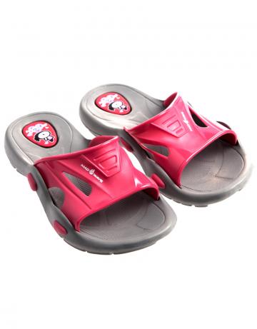 Детские тапочки для бассейна и пляжа FlipperДетская обувь<br>Юниорские тапки для бассейна.<br><br>Размер: 33<br>Цвет: Красный