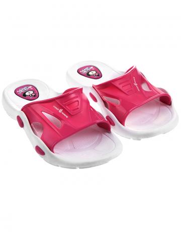 Детские тапочки для бассейна и пляжа FlipperДетская обувь<br>Юниорские тапки для бассейна.<br><br>Размер: 35<br>Цвет: Розовый