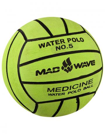 Мяч для водного поло Medicine Ball  №5 900 грИнвентарь<br>Утяжеленный вотерпольный мяч ручной чески N5, 900 г<br><br>Цвет: Зеленый