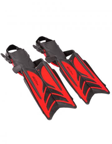 Ласты для плавания Mad Wave Aileron M0640 02 9 05WЛасты для плавания<br><br><br>Размер: 44-45<br>Цвет: Красный