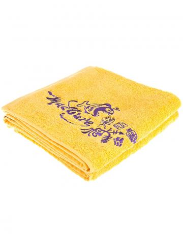Полотенце для бассейна и пляжа Fish TowelПолотенца<br>Полотенце 550 г/м. 50*100 см<br><br>Размер: 50*100<br>Цвет: Желтый