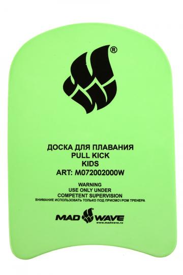Доска калабашка Kickboard KidsДоски для плавания<br>Гидродинамический дизайн этой доски для плавания уменьшает сопротивление воды и увеличивает маневренность, это позволяет более эффективно проводить тренировки. Приятный на ощупь, но вместе с тем очень прочный EVA-материал, термообработка поверхности, которая препятствует впитыванию воды и увеличивает износостойкость – все это позволяет говорить об этой модели, как одной из лучших в нашем ассортименте.<br><br>Размер: 28,5х20,5х3,2<br>Цвет: Зеленый