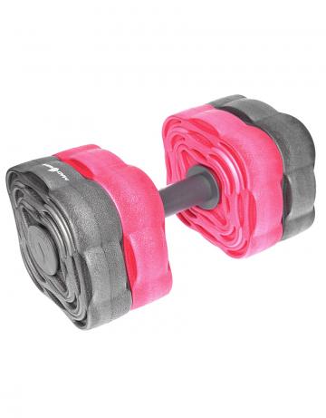 Аквафитнес тренажер Dumbells TransformerАквафитнес<br>Аквагантели трансформеры. Используются в упражнениях для развития координации и выносливости тела. Съёмные блоки позволяют регулировать степень нагрузки при выполнении упражнений. Формованный материал EVA обеспечивает легкость и плавучесть, а также устойчивость к механическим повреждениям.<br><br>Размер: None<br>Цвет: Серый