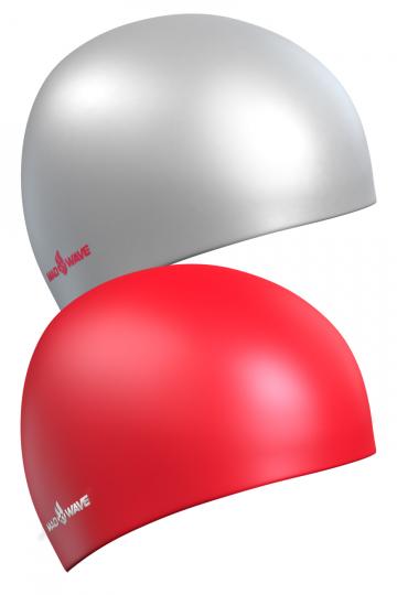 Силиконовая шапочка для плавания Reverse CHAMPIONСиликоновые шапочки<br>Силиконовая шапочка Mad Wave Reverse CHAMPION - двусторонняя шапочка, отлично подойдет как женщинам, так и мужчинам. Эту шапочку можно надевать под разные купальники всего лишь вывернув и одев ее другой стороной.  Мягкий прочный силикон обеспечивает идеальную посадку и комфорт. Материал шапочки не вызывает раздражения, что гарантирует безопасность использования шапочки. Силикон не пропускает воду и приятен на ощупь.<br><br>Цвет: Красный