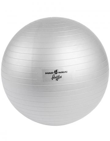 Фитнес тренажер Anti burst Gym BallФитнес инвентарь<br>Фитбол – отличный тренажер для развития координации движений, гибкости, укрепления мышц спины и брюшного пресса. Используется для функционального тренинга, на реабилитационных занятиях, в йога и пилатес-программах. Технология ABS (Anti-Burst Systems) гарантирует защиту от внезапного разрыва мяча при случайном порезе или проколе: поврежденный мяч медленно сдувается, а не оглушительно взрывается. <br>Такая безопасность особенно важна на занятиях для будущих мам, в детских фитнес-программах.  Даже очень полные люди имеют возможность выполнять на нем упражнения с отягощениями. Гимнастический мяч – высокое качество и удобство использования, проверенное временем.<br>Диаметр 55 см.  Выдерживает вес до 120 кг. В комплекте: насос.<br><br>Размер: 30<br>Цвет: Серый