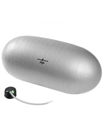 Фитнес тренажер Gym BallФитнес инвентарь<br>Фитбол – отличный тренажер для развития координации движений, гибкости, укрепления мышц спины и брюшного пресса. Используется для функционального тренинга, на реабилитационных занятиях, в йога и пилатес-программах. Технология ABS (Anti-Burst Systems) гарантирует защиту от внезапного разрыва мяча при случайном порезе или проколе: поврежденный мяч медленно сдувается, а не оглушительно взрывается. Такая безопасность особенно важна на занятиях для будущих мам, в детских фитнес-программах.  Даже очень полные люди имеют возможность выполнять на нем упражнения с отягощениями. Гимнастический мяч – высокое качество и удобство использования, проверенное временем.<br>Диаметр 53 см.<br><br>Размер: 21.2<br>Цвет: Серый