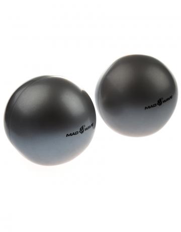 Фитнес тренажер Exercise ball weightedФитнес инвентарь<br>Мычи-утяжелители. Упражнения на координацию движений. Тренировка вестибулярного аппарата. Дыхательные упражнения. Являются альтернативой гантелям и ленточным утяжелителям. Упражнения на равновесие. Диаметр мяча: 12 см. Вес мяча: 450г.<br><br>Цвет: Серый