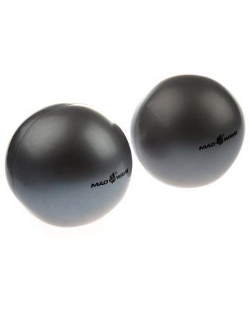 Exercise ball weighted