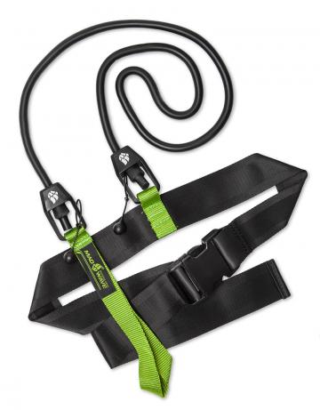 Тренажер для плавания Short BeltТренажеры<br>Тренажер позволяет тренироваться в стационарной позиции при которой пловец может развивать выносливость, работать над техникой гребков и отрабатывать толчки от края бортика. Сопротивление  3,6 до 10,8 кг<br><br>Размер: 3,6-10,8 kg<br>Цвет: Черный