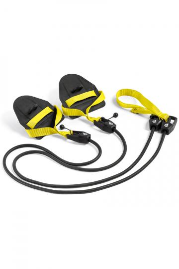 Тренажер для плавания Dry TrainingТренажеры<br>Гребной тренажер с лопатками для зала. Сделан для имитации занятий в бассейне. Тренажер Dry Training помогает дать нагрузку на специфические мышцы и приучает пловцов держать руки в нужной плоскости. Длина тренажера  1,20 м. Сопротивление: 1,3 до 3,6 кг.<br><br>Размер RU: 2,2-6,3 kg<br>Цвет: Черный