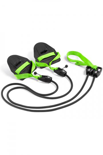 Тренажер для плавания Dry TrainingТренажеры<br>Гребной тренажер с лопатками для зала. Сделан для имитации занятий в бассейне. Тренажер Dry Training помогает дать нагрузку на специфические мышцы и приучает пловцов держать руки в нужной плоскости. Длина тренажера  1,20 м. Сопротивление: 1,3 до 3,6 кг.<br><br>Размер: 3,6-10,8 kg<br>Цвет: Черный
