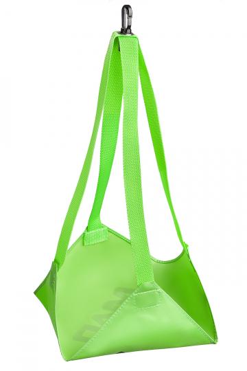 Тренажер для плавания Drag BagТренажеры<br>Тормозной парашют. Используется дополнительно для усовершенствования тренажера Belt Trainer.<br><br>Размер: 40*40 cm<br>Цвет: Зеленый