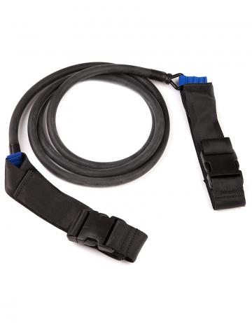 Тренажер для плавания Belt Trainer two side latexТренажеры<br>Поясной тренажер Belt Trainer. Используется для плавания с сопротивлением и имитации ускорений. Помогает приобрести навыки более быстрого ускорения и улучшает силовую составляющую каждого гребка, а также тренирует мышечную выносливость.<br><br>Размер: 2,4 m<br>Цвет: Черный