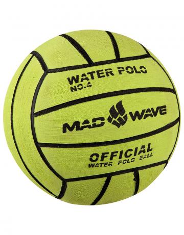 Мяч для водного поло Water Polo Ball Official size Weight №4Инвентарь<br>Профессиональный вотерпольный мяч ручной чески. Вес: 400 г. Диаметр: 206 мм.<br><br>Цвет: Зеленый
