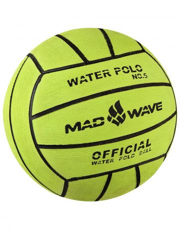 Мяч для водного поло Water Polo Ball Official size Weight №5Инвентарь<br>Профессиональный вотерпольный мяч ручной чески. Вес: 450 г. Диаметр: 216 мм.<br><br>Цвет: Зеленый