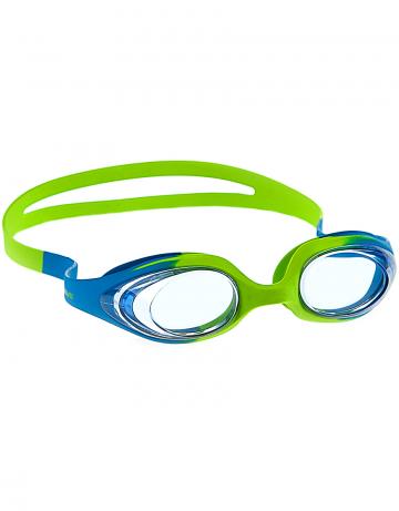 Тренировочные очки Mad Wave Stretchy Junior M0411 06 0 08WТренировочные очки<br>Удобные юниорские очки для частого использования. Благодаря использованию силикона переменной эластичности очки одеваются с комфортом практически на любую голову. Не нужно регулировать ремешок. Защита от ультрафиолетовых лучей. Антизапотевающие стекла. Линзы из поликарбоната. Вид переносицы - моноблок. Оправа, обтюратор и ремешок из силикона с переменной эластичностью.<br><br>Размер: None<br>Цвет: Голубой