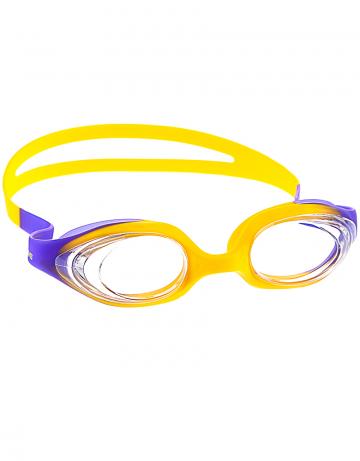 Тренировочные очки для плавания Stretchy JuniorТренировочные очки<br>Удобные юниорские очки для частого использования. Благодаря использованию силикона переменной эластичности очки одеваются с комфортом практически на любую голову. Не нужно регулировать ремешок. Защита от ультрафиолетовых лучей. Антизапотевающие стекла. Линзы из поликарбоната. Вид переносицы - моноблок. Оправа, обтюратор и ремешок из силикона с переменной эластичностью.<br><br>Размер: None<br>Цвет: Фиолетовый