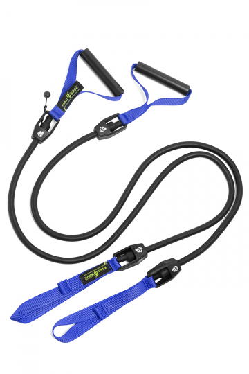 Тренажер для плавания DRY TRAINING with plastic handlesТренажеры<br>Гребной тренажер с ручками для зала. Сделан для имитации занятий в бассейне. Тренажер Dry Training помогает дать нагрузку на специфические мышцы и приучает пловцов держать руки в нужной плоскости. Длина тренажера  1,20 м. Сопротивление: 1,3 до 3,6 кг<br><br>Размер RU: 6,3-15,4 kg<br>Цвет: Черный