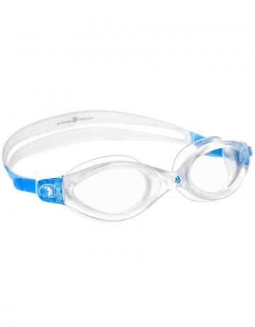 Тренировочные очки для плавания Clear Vision CP LensТренировочные очки<br>Очки CLEAR VISION от Mad Wave послужат прекрасным дополнением к частым тренировкам в бассейне. Комфортная посадка, обеспеченная системой автоматической регулировки ремешка и высоким обтюратором, а также специальная конструкция линз с широким боковым обзором позволят использовать очки длительное время, не испытывая даже малейшего неудобства. Система Антифог Ультра навсегда устранит проблему запотевающих линз, а технология UV 400 защитит глаза от ультрафиолетового излучения.<br><br>Цвет: Синий