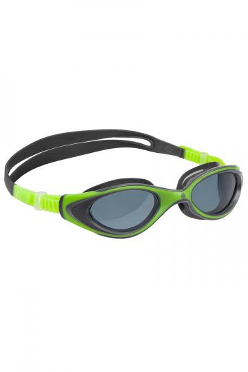 Тренировочные очки для плавания Automatic Junior FlameТренировочные очки<br>Удобные классические юниорские очки для спорта и отдыха c автоматической системой регулировки ремешков<br><br>Размер: None<br>Цвет: Зеленый