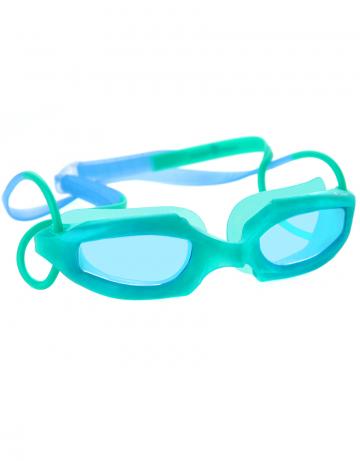 Тренировочные очки для плавания Fruit BasketТренировочные очки<br>Занимательные очки для малышей (2-6 лет ) с ароматными запахами винограда, апельсина и вишни. Улучшенная<br>антизапотевающая защита стекла благодаря внедрению<br>антифога капиллярным способом.<br><br>Цвет: Зеленый