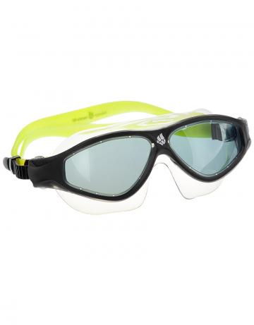 Маска для плавания FLAME MaskМаски для плавания<br>Очки-маска FLAME от Mad Wave послужат прекрасным дополнением к частым тренировкам в бассейне. Ультракомфортабельная посадка, обеспеченная системой автоматической регулировки ремешка и высоким обтюратором, а также специальная конструкция линз с широким боковым обзором позволят использовать очки длительное время, не испытывая даже малейшего неудобства. Система Антифог Ультра навсегда устранит проблему запотевающих линз, а технология UV 400 защитит глаза от ультрафиолетового излучения.<br><br>Цвет: Зеленый
