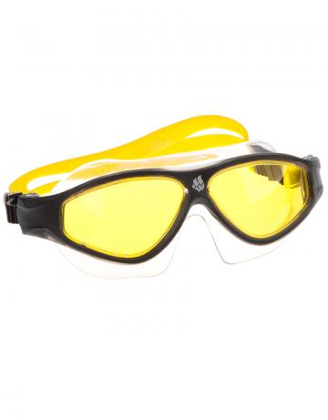 Маска для плавания FLAME MaskМаски для плавания<br>Очки-маска FLAME от Mad Wave послужат прекрасным дополнением к частым тренировкам в бассейне. Ультракомфортабельная посадка, обеспеченная системой автоматической регулировки ремешка и высоким обтюратором, а также специальная конструкция линз с широким боковым обзором позволят использовать очки длительное время, не испытывая даже малейшего неудобства. Система Антифог Ультра навсегда устранит проблему запотевающих линз, а технология UV 400 защитит глаза от ультрафиолетового излучения.<br><br>Цвет: Желтый