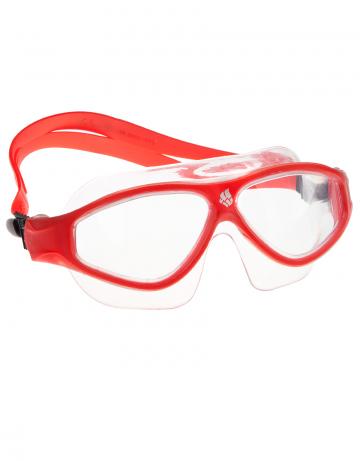 Маска для плавания FLAME MaskМаски для плавания<br>Очки-маска FLAME от Mad Wave послужат прекрасным дополнением к частым тренировкам в бассейне. Ультракомфортабельная посадка, обеспеченная системой автоматической регулировки ремешка и высоким обтюратором, а также специальная конструкция линз с широким боковым обзором позволят использовать очки длительное время, не испытывая даже малейшего неудобства. Система Антифог Ультра навсегда устранит проблему запотевающих линз, а технология UV 400 защитит глаза от ультрафиолетового излучения.<br><br>Цвет: Красный